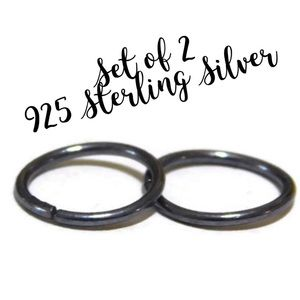 24G-14G Seamless Piercing Hoops
